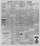 Portland Daily Press: October 27, 1896