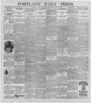 Portland Daily Press: October 28, 1896