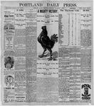 Portland Daily Press: November 4, 1896