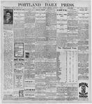 Portland Daily Press: November 5, 1896