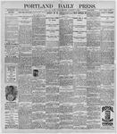 Portland Daily Press: November 6, 1896