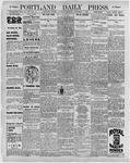 Portland Daily Press: November 7, 1896