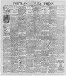 Portland Daily Press: November 9, 1896