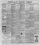 Portland Daily Press: November 10, 1896