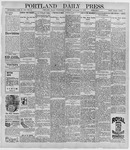 Portland Daily Press: November 11, 1896