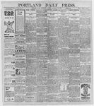 Portland Daily Press: November 12, 1896