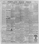 Portland Daily Press: November 14, 1896
