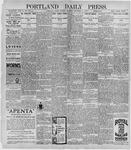 Portland Daily Press: November 17, 1896