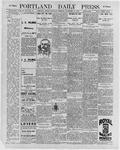 Portland Daily Press: November 21, 1896