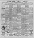 Portland Daily Press: November 25, 1896