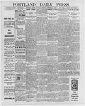 Portland Daily Press: November 26, 1896