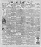 Portland Daily Press: November 30, 1896