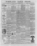 Portland Daily Press: December 4, 1896
