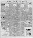 Portland Daily Press: December 8, 1896