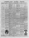 Portland Daily Press: December 9, 1896