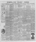 Portland Daily Press: December 11, 1896