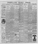 Portland Daily Press: December 14, 1896