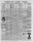 Portland Daily Press: December 18, 1896