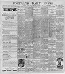 Portland Daily Press: December 21, 1896