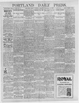 Portland Daily Press: December 26, 1896