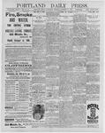 Portland Daily Press: December 30, 1896