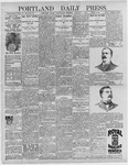 Portland Daily Press: January 6, 1897