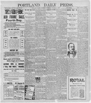 Portland Daily Press: January 7, 1897