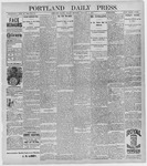 Portland Daily Press: January 8, 1897