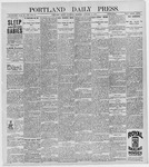 Portland Daily Press: January 9, 1897