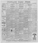 Portland Daily Press: January 14, 1897