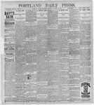 Portland Daily Press: January 16, 1897