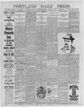Portland Daily Press: January 20, 1897