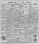 Portland Daily Press: January 22, 1897