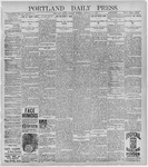 Portland Daily Press: January 25, 1897