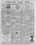 Portland Daily Press: January 26, 1897