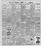 Portland Daily Press: January 30, 1897
