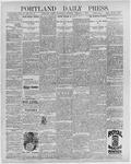 Portland Daily Press: February 3, 1897
