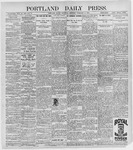 Portland Daily Press: February 6, 1897