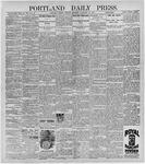 Portland Daily Press: February 22, 1897