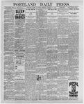 Portland Daily Press: February 25, 1897