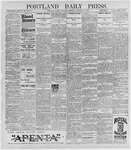 Portland Daily Press: February 27, 1897