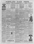 Portland Daily Press: March 2, 1897