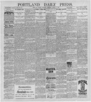 Portland Daily Press: March 6, 1897