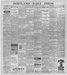 Portland Daily Press: March 9, 1897