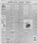 Portland Daily Press: January 3, 1898