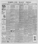 Portland Daily Press: January 7, 1898