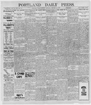 Portland Daily Press: January 10, 1898
