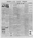 Portland Daily Press: January 11, 1898