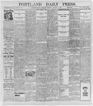 Portland Daily Press: January 13, 1898