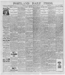Portland Daily Press: January 20, 1898